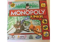 Monopoly Junior Board Game Brand New, sealed