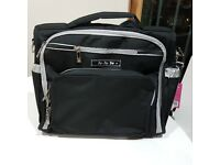 NEW with Tags Ju Ju Be Bag black/silver
