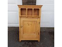 Pine Bathroom Cabinet \ medicine cupboard