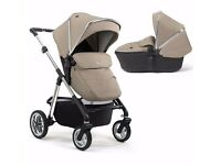 Silver Cross Pioneer 3 in 1 Travel System - Sand
