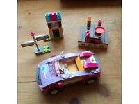 Lego Friends Car and Picnic bench 41013