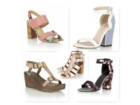 Job lot Womens Shoes - Sandals & Heels Wholesale Clearance 150 pairs