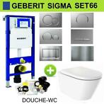 Geberit UP320 Set66 Douche WC Wiesbaden Vesta-ECO Randloo...