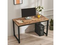 120cm Computer Home Office Desk Corner Wooden Desktop Table PC Study Workstation