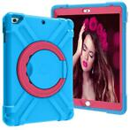 iPad 9.7 (2017/2018) Hoes - Rotating Heavy Duty Stand Case -