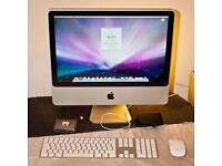 "Apple iMac 20"" 2.4ghz Core 2 Duo with 130GB SSD 4GB RAM"
