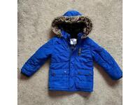Mothercare - boys winter coat 3 - 4 years