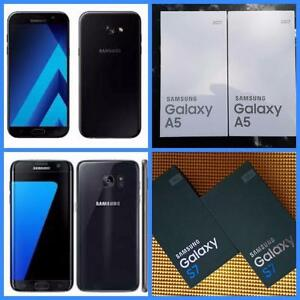 Brand New Samsung Galaxy S7 ($499)/ A5 (2017) ($349) -UNLOCKED/WIND/Mobilicity/Roger/Bell/Telus/Fido/Chat-r/Koodo/Virgin