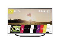LG UF770V 55 Inch Ultra HD 4K Freeview HD Smart WiFi LED TV - Black