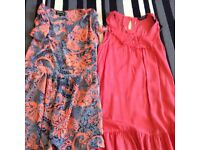 Large bundle of size 14 woman's clothing 1 and half black bags full