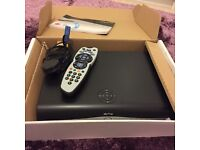 Sky HD box , remote & cables