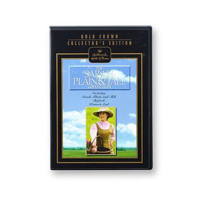 Sarah Plain And Tall Trilogy  Hallmark Hall Of Fame 3 Dvd Set    Free Shipping