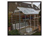 Denbigh greenhouse 8 x 6 excellent condition