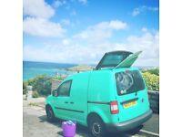 VW Caddy - Green - Sunroof - 7 months MOT