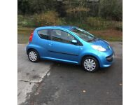 Peugeot 107 Urban '56 3door blue ideal first car damaged repaired very clean Devon vehicle salvage