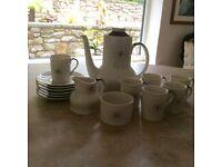 Royal Doulton Morning Star Coffee Set