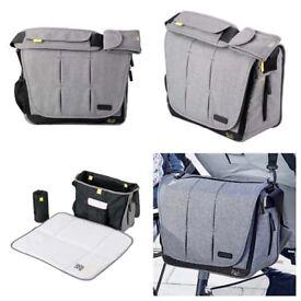 Grey Bababing changing bag!