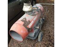 diesel space heater 35kw spare or repair