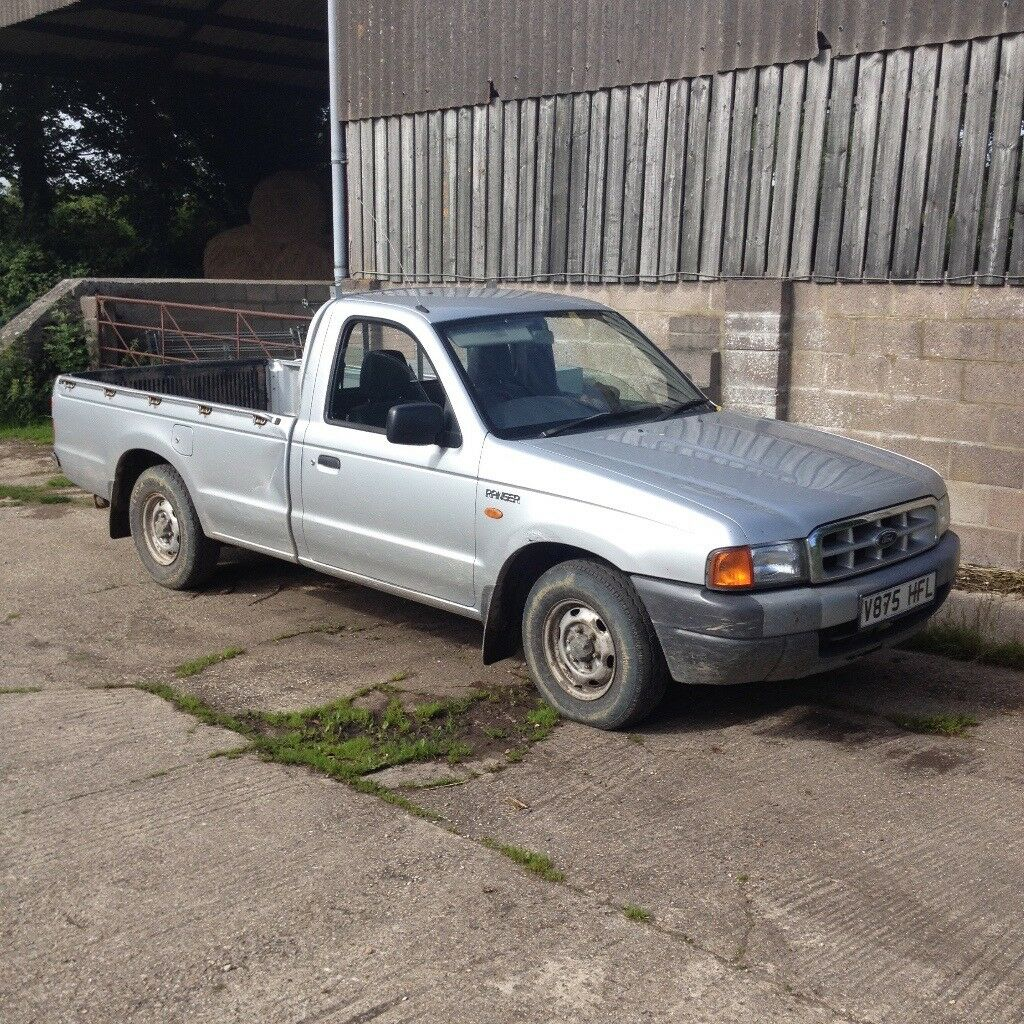 Mk1 2 5d 2wd 1999 ford ranger silver 4x2 diesel no vat £1200