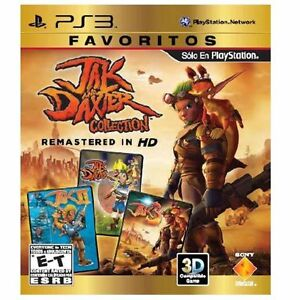 Jak and Daxter Collection Trilogy HD PS3 Brand NEW & SEALED
