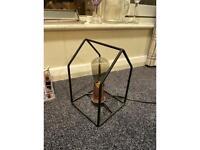 Decorative Minimalist Lamp Holder