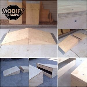 Modify Ramps - Wedge / Pyramid Skate Ramp Raymond Terrace Port Stephens Area Preview