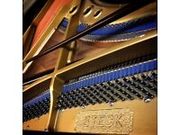 STECK BABY GRAND PIANO - RESTORED ACTION & KEYBOARD