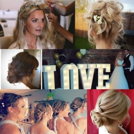 Wedding Hairdresser and prop hire