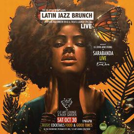 LATIN JAZZ BRUNCH LIVE WITH SARABANDA (LIVE) + DJ JOHN ARMSTRONG - FREE ENTRY