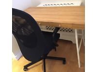 New Ikea Desk and Office Chair