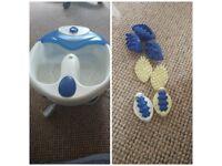 Warm & bubbly foot spa