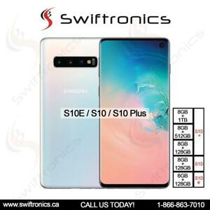 Samsung Galaxy S10E 128GB 6GB RAM, Samsung Galaxy S10 /S10 Plus 128GB/1TB 8GB RAM Unlocked