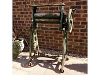 Garden Feature Old Cast Iron Washing Mangle .. £50.. Possible Delivery
