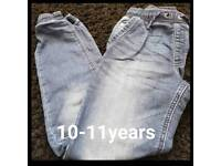 Boys 10-11 years jeans
