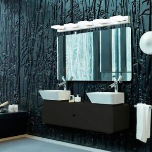 Lightess Vanity Lights Modern LED Bathroom Wall Sconce Lighting Fixture Make Up Mirror Bath Lamp, Cool White (15W)