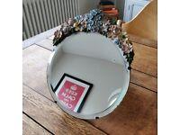 Vintage Barbola dressing table mirror. Vanity mirror. Cosmetics mirror. Ladies mirror(1485)
