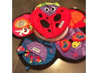 Lamaze tummy time spin gym baby mat