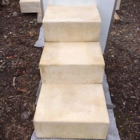 Set Of Three Stone Steps VARIOUS OTHER SIZES ALSO AVAILABLE