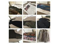 Large bundle clothes and shoes size 8 and shoe 5 river island topshop miss selfridge