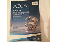BPP's ACCA F8 Revision notes