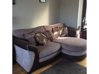 Sofa and swinging chair for sale