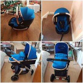Mother care journey travel system