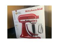 Brand new Kitchen Aid Artisan 4.8L Red