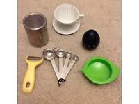 6 utencils