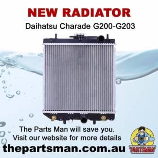 Radiator 1.5L 4Cyl Daihatsu Charade G200-G203 6/93-7/00 Adelaide CBD Adelaide City Preview