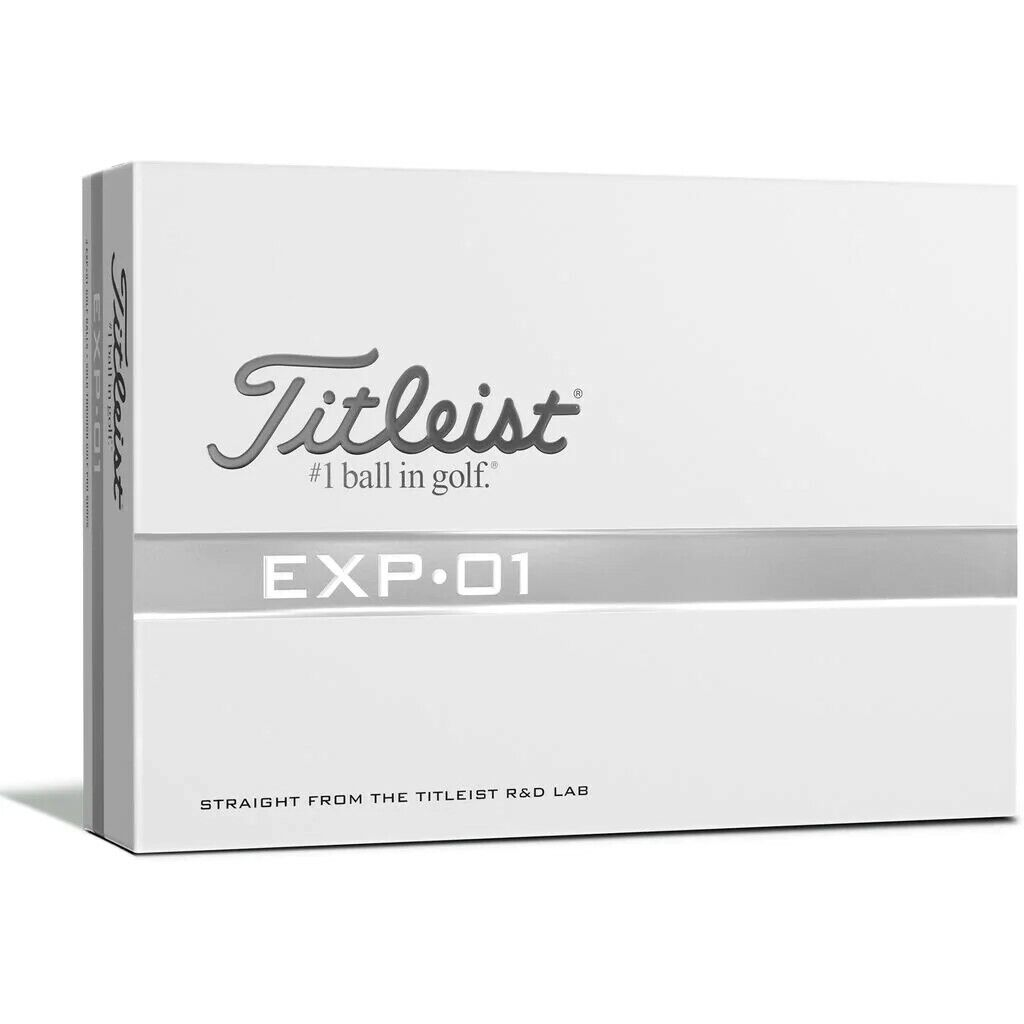 rare exp 01 golf ball experimental 1