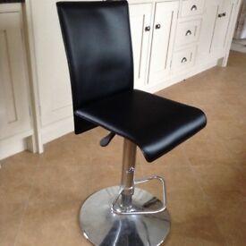 Lovely black bar stool for sale