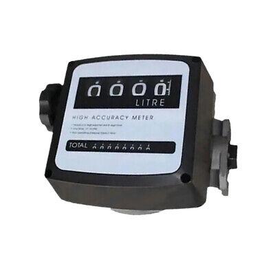 4-bit Digital Diesel Fuel Oil Flow Meter Gallon Counter Meter 1 1