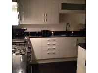 Brand new Wren white gloss kitchen door fronts