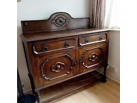 Antique / rustic gorgeous chest of drawers. Ideal piece of furniture for remake